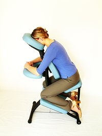 Holistic Therapies. Chair massage small